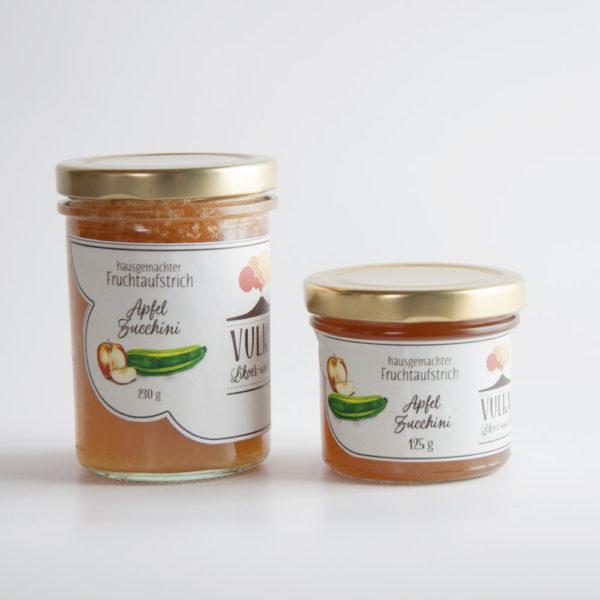 Apfel Zucchini Fruchtaufstrich