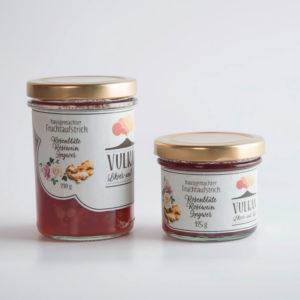 Rosenblüte Roséwein Ingwer Fruchtaufstrich