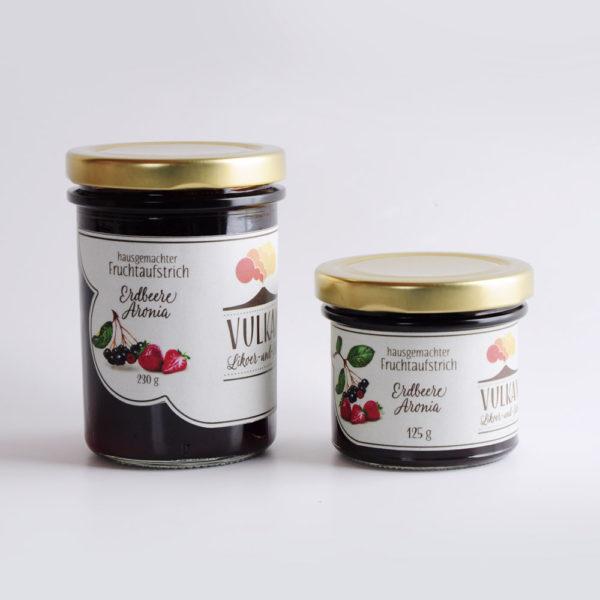 Erdbeere Aronia Fruchtaufstrich