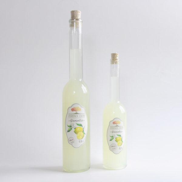 Zitronen Likör Gremmbrie