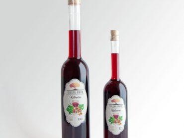 Der neue Rotwein Likör