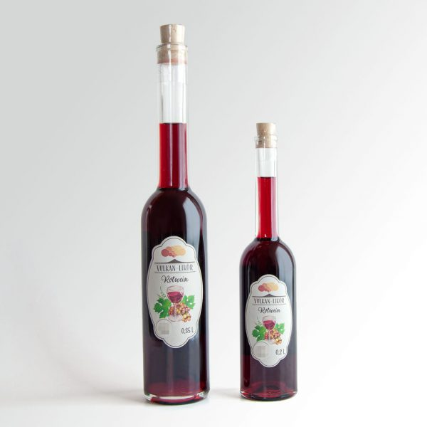 Rotwein Likör